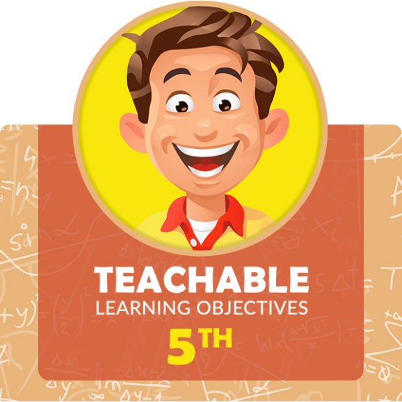 fifth grade learning objectives math