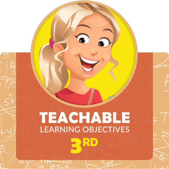 third grade learning objectives math